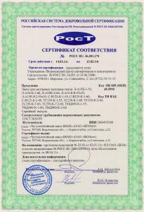 Сертификат на люки